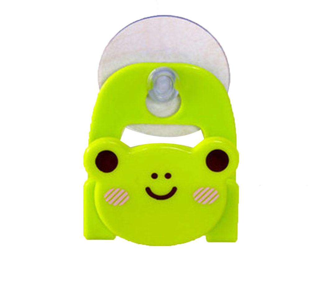 Panda Superstore Set of 4 Practical/Useful/High-quality Dishwashing Sponge Holder, frog Shape